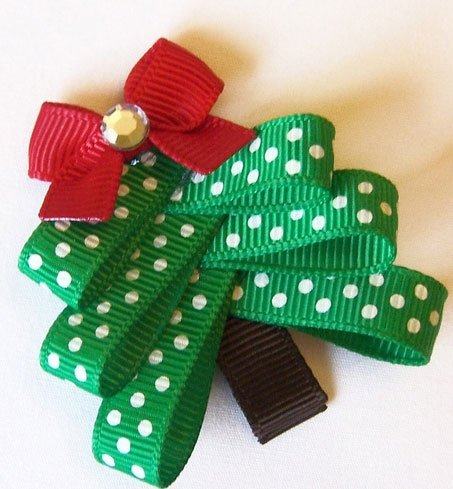 Christmas Ribbon Sculptures Bow