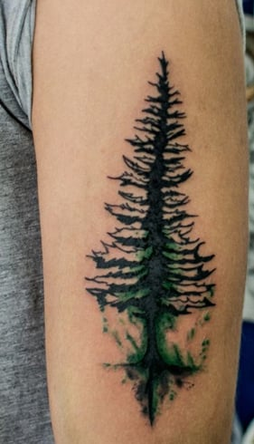 Christmas Tattoo For Women
