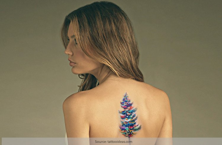 Christmas Tattoos For Girl
