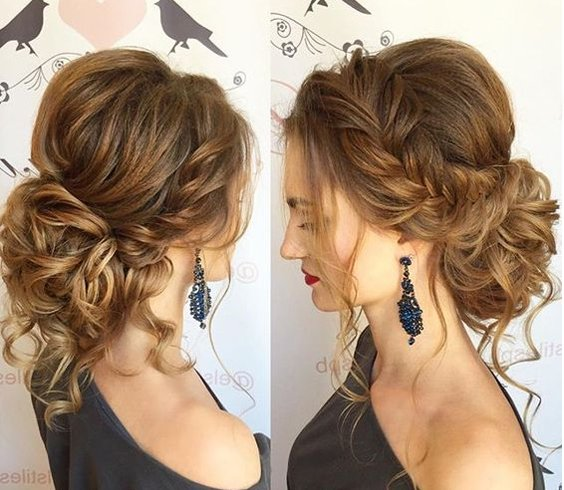 Curly Hair For Quinceanera