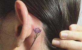 Ear Tattoos For Women