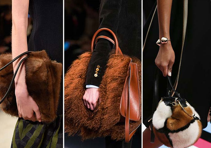 Furry Handbag