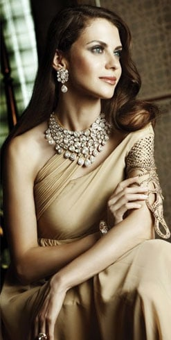 Gorgeous Neutral Bridal Wear