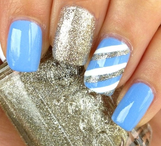 Gorgeous Winter Nail Art You Must Try