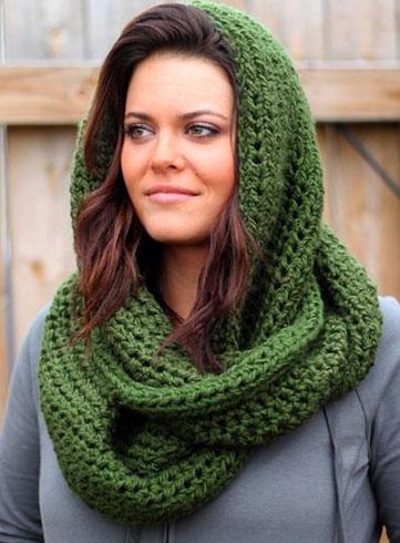 Green For Winter Wear