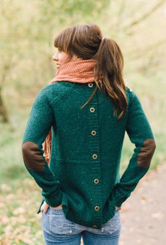 Green Winter Dress