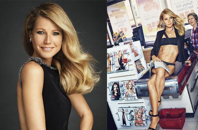 Gwyneth Paltrow On Harpers Bazaar US