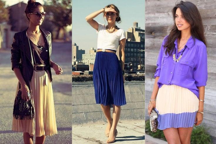 How To Wear Pleated Skirt: Wardrobe Ideas