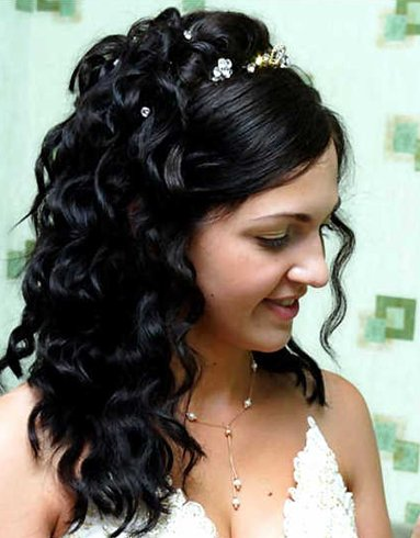 Loose Curls For Pakistani Bridal