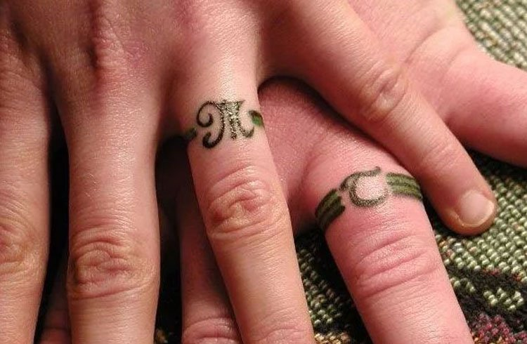 Matching Tattoo Rings
