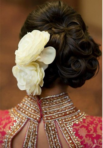 Pakistani Engagement Hairstyles