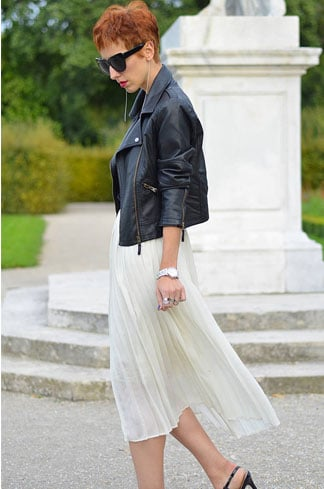 Pleated Skirt Fashion