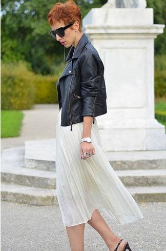 Pleated Skirt Fashion