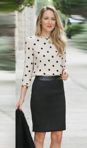 Polka Dotted Tops