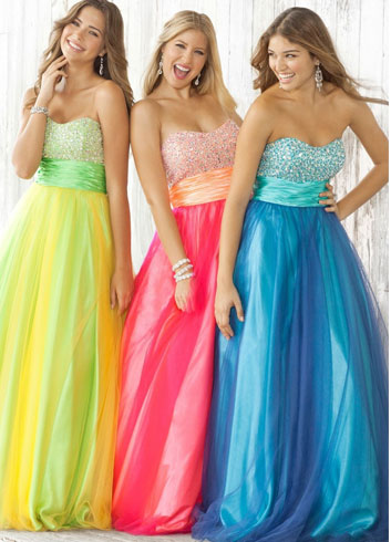 Quinceanera Fluorescent Colours