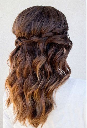 Quinceanera Hair Do For Women