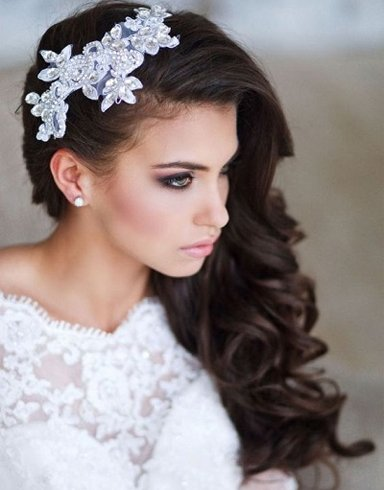 Cute Quinceanera Hairstyles with Crown | New Natural ...  |Beautiful Hairstyles For Quinceaneras
