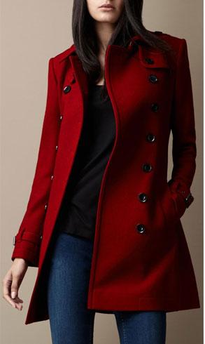 Red Winter Dress