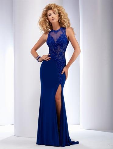 Royal blue princess Quinceanera