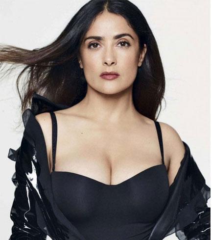 Salma Hayek Fashion