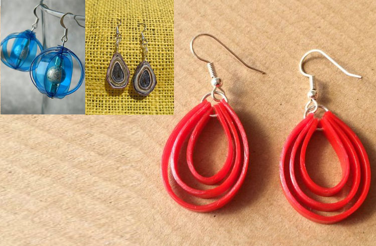 Simple And Chic Plastic Earrings