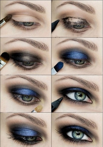 Smokey Eye Makeup Tutorials For Beautiful Eyes