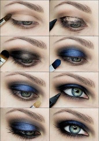 Smokey Eye Makeup Tutorials For Beautiful Eyes