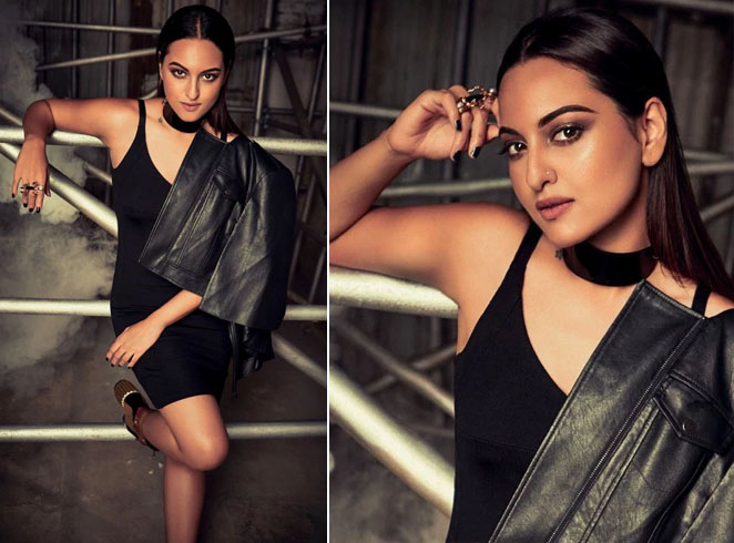 Sonakshi Sinha Photoshoot on Cosmopolitan