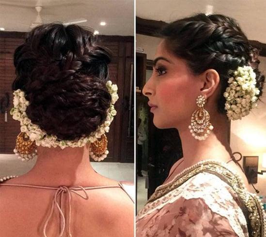 Sonam Kapoor Hair Bun