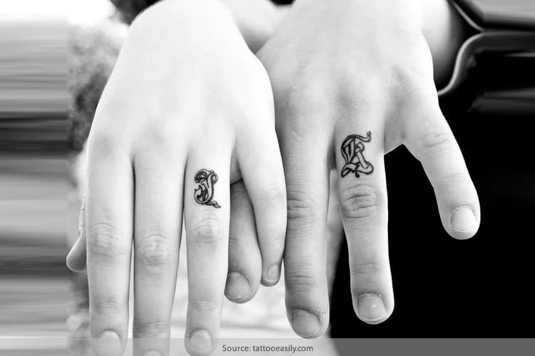 Tattoo Wedding Rings: The New Way Of Exchanging Of Vows