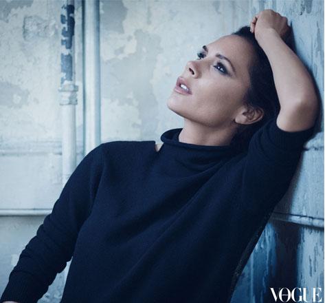 Victoria Beckham On Vogue