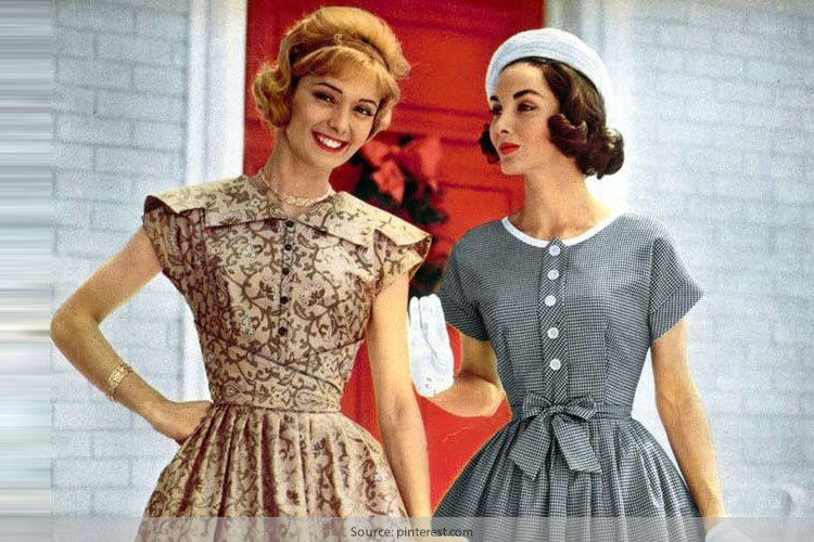 A Sneak-Peek Into What Vintage 1950s Fashion Looked Like