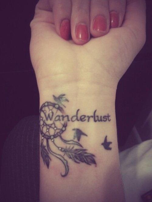Wanderlust Tattoos for Girls