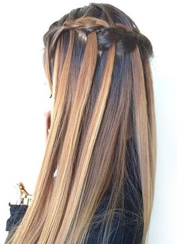 Wasy Waterfall Braid For Women