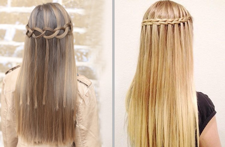 Gorgeous waterfall braid hairstyle you can make by yourself gorgeous waterfall braid hairstyle you can make by yourself solutioingenieria Gallery