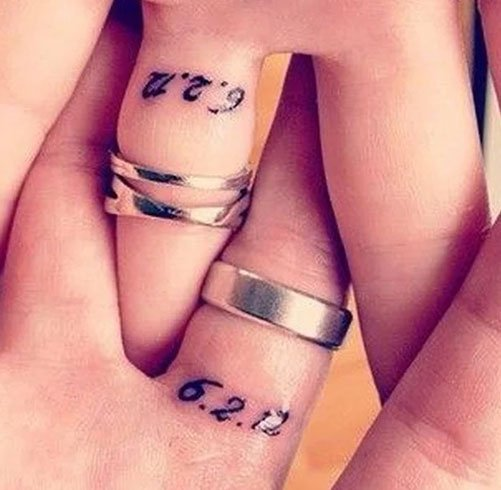 Wedding Date Tattoos