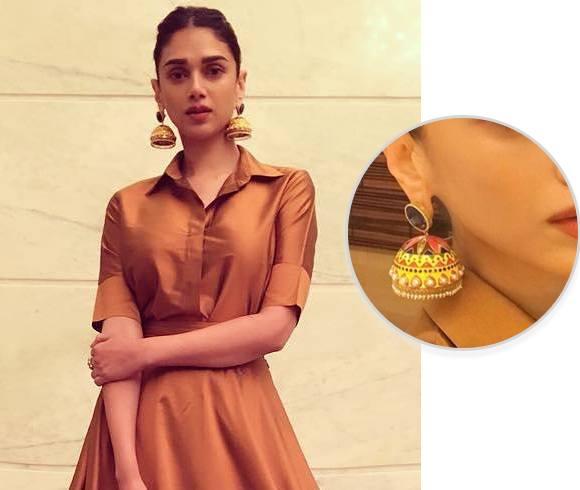 Aditi Rao Hydari Amrapali Earrings