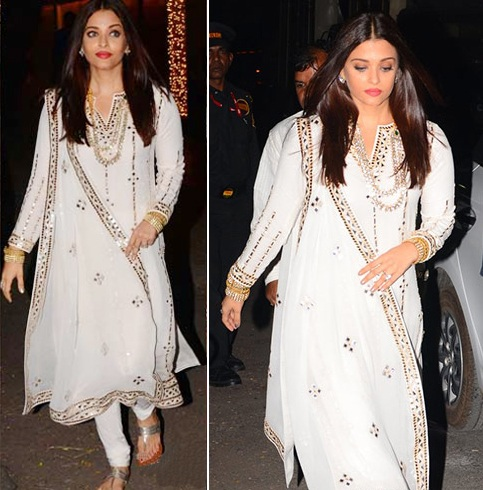 Aishwarya Rai At Diwali Celebrations