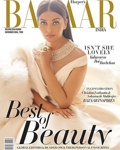 Aishwarya Rai On Harper's Bazaar