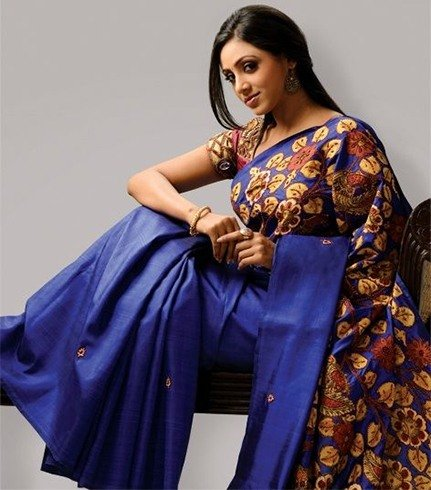 Applique Saree Design