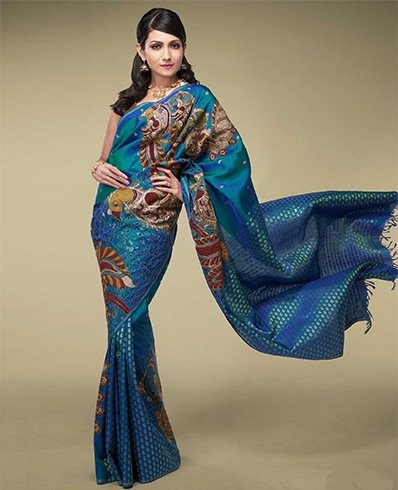 Applique Saree Designs
