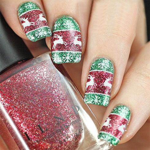 Best Christmas Nail Art Ideas