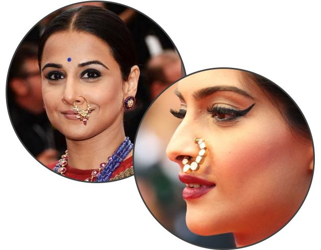 Bollywood Nose Jewelry