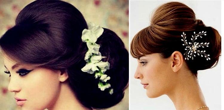 32 einfache und modische Frisuren für Sarees