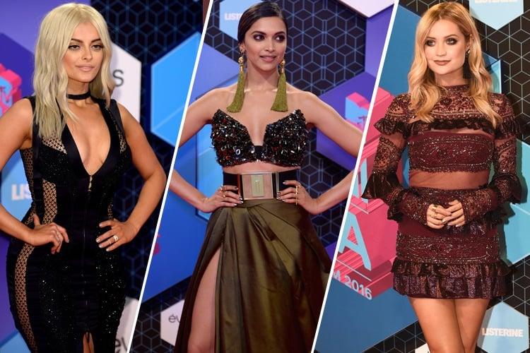 Celebrates At MTV EMA 2016