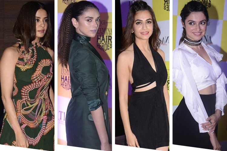 Celebrities at Femina Hair Heroes Awards