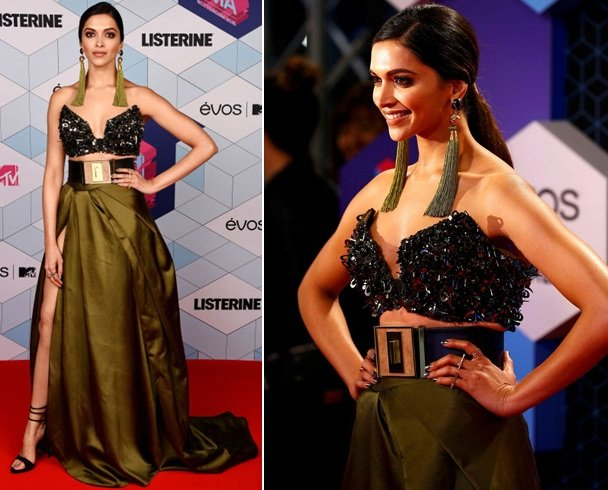 Deepika Padukone At MTV EMAs 2016