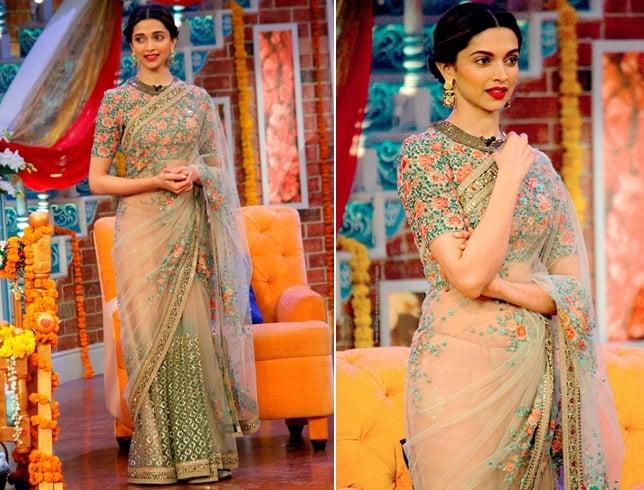 Deepika Padukone At Kapil Sharma Comedy Show