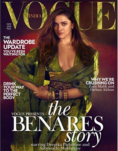 Deepika Padukone On Vogue