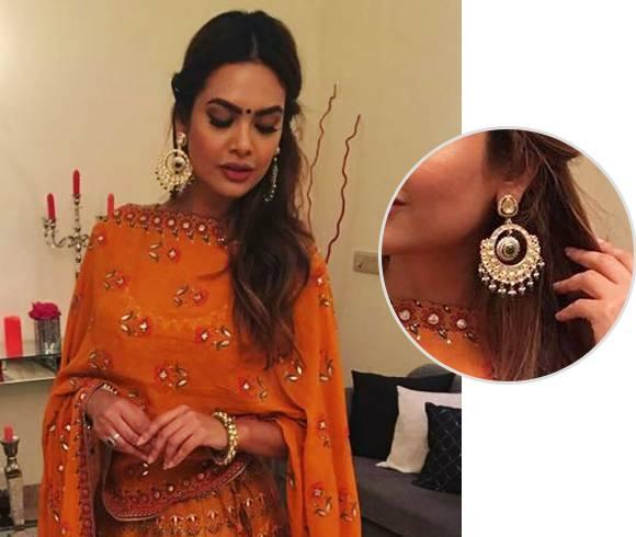 Esha Gupta Jewellery